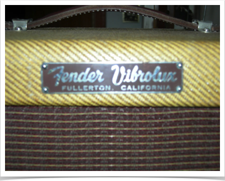 Fender Vibrolux '58 (plate)