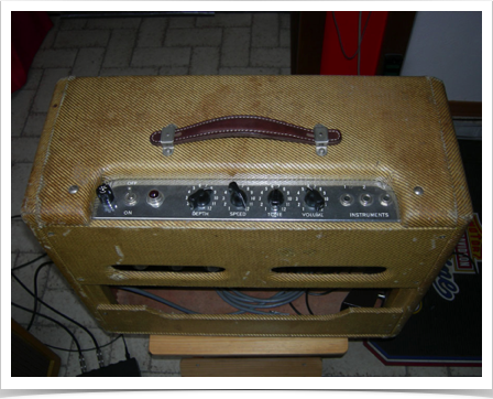 Fender Vibrolux '58 (top)